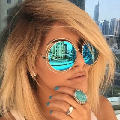 Women's Oversize Mirror Sunglasses